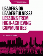 Leaders or Leaderfulness Leassons from High-Achieving Communities
